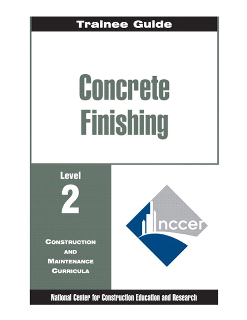 Concrete Finishing</br> Level 2