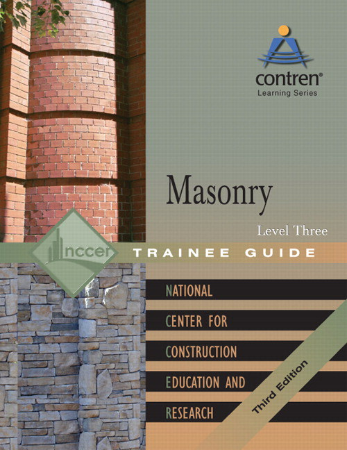 Masonry Level 3 Trainee Guide, Paperback, 3rd Edition