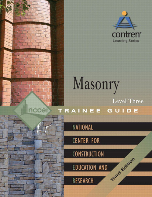 Masonry Level 3 Trainee Guide, Binder, 3rd Edition