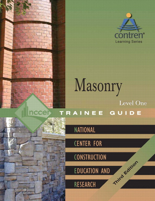 Masonry Level 1 Trainee Guide, Hardcover, 3rd Edition