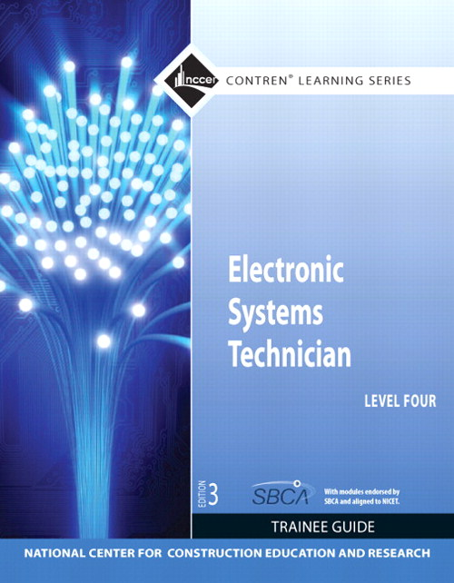 Electronic Systems Technician Level 4 Trainee Guide, Paperback, 3rd Edition