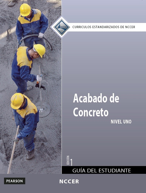 Concrete Finishing Level 1 Trainee Guide in Spanish (International Version)