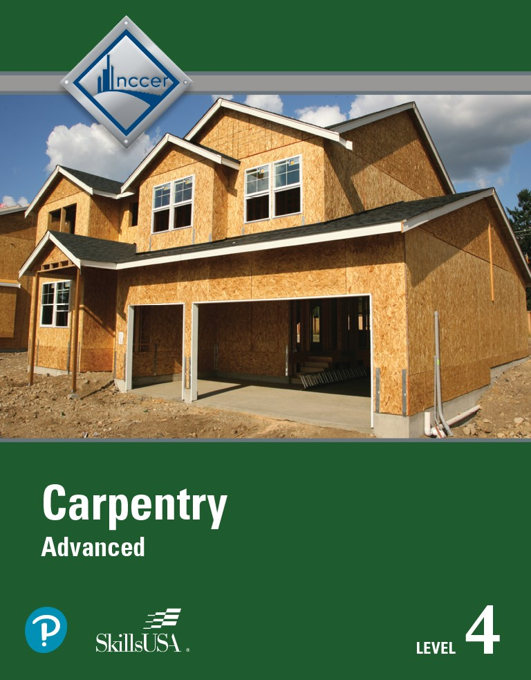 Carpentry Advanced Level 4 Trainee Guide, 5th Edition