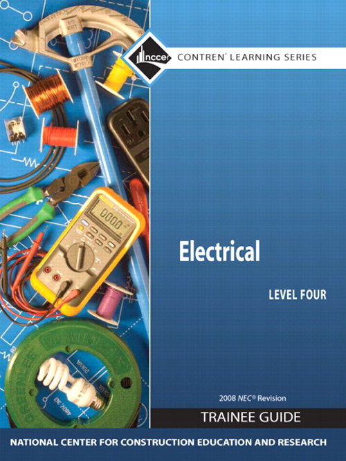 Electrical 4 Trainee Guide, 2008 NEC, Paperback