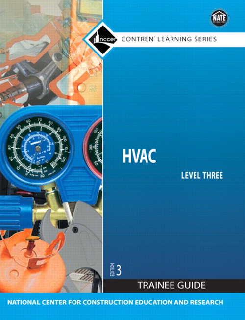 HVAC Level 3 Trainee Guide, Paperback, 3rd Edition