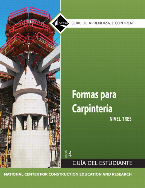 Carpentry Forms 3 Trainee Guide in Spanish, 4th Edition