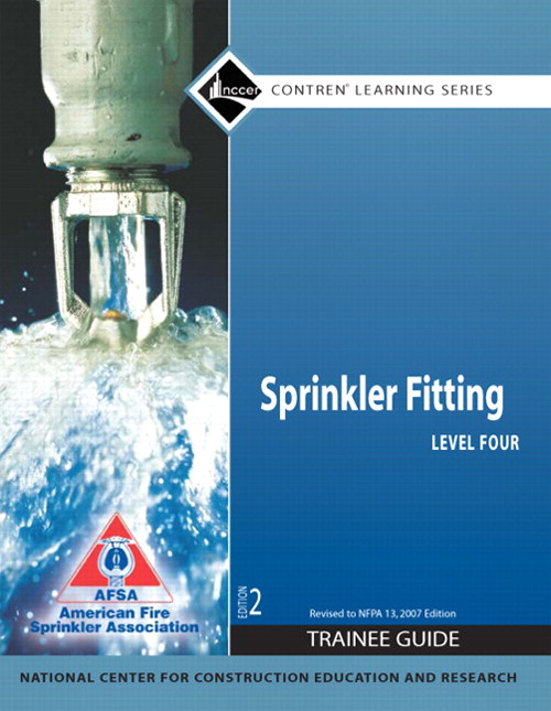 Sprinkler Fitting Level 4 Trainee Guide, Paperback