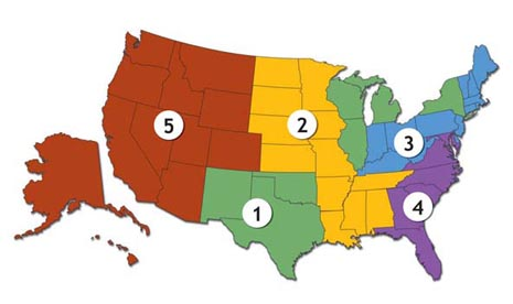 Sales Regions